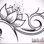croquis d'un tatouage sur le poignet fleurs - Photos sur 26-04-2016 1