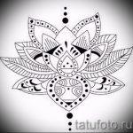 fleur de lotus croquis de tatouage - dessins de 26-04-2016 2