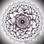 fleur de tatouage noir - chiffres de 26-04-2016 1