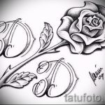 flower tattoo designs black - figures from 26.04.2016 1