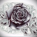 flower tattoo designs black - figures from 26.04.2016 2
