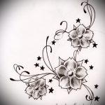 flower tattoo designs for girls - Pictures from 26.04.2016 4