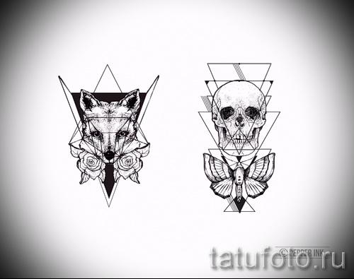 fox conceptions de tatouage sur le poignet - voir photos 25.04-2016 1