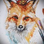 fox tattoo designs on the leg - see pictures 25.04-2016 4