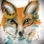 fox tattoo designs on the leg - see pictures 25.04-2016 5