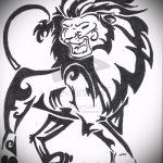lion conceptions de tatouage pour les hommes - les images pour les tatouages de 29042916 1