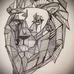 lion conceptions de tatouage sur l'avant-bras - images pour les tatouages de 29042916 1