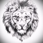lion tattoo designs realism - images for tattoos from 29042916 1