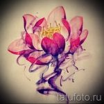 lotus flower tattoo sketches - drawings by 26.04.2016 3