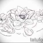 lotus flower tattoo sketches - drawings by 26.04.2016 5