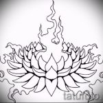 lotus flower tattoo sketches - drawings by 26.04.2016 6