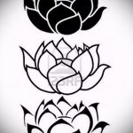 lotus flower tattoo sketches - drawings by 26.04.2016 7
