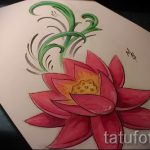 lotus flower tattoo sketches - drawings by 26.04.2016 8
