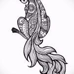 museau de renard tatouage croquis - voir les photos 25.04-2016 1