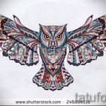 owl tattoo sketches American 2