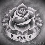 rose noire croquis de tatouage - look cool fond d'écran 1