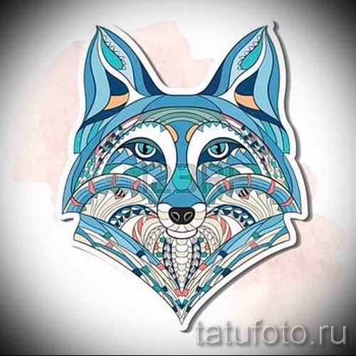 sketch of tattoo fox - see pictures 25.04-2016 1