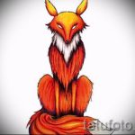 sketch of tattoo fox - see pictures 25.04-2016 2