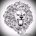 sketches of a lion tattoo on his hand - drawings for tattoos from 29042916 2