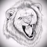 sketches of a lion tattoo on his leg - the drawings for tattoos from 29042916 1