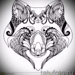sketches tattoo black fox - see pictures 25.04-2016 2