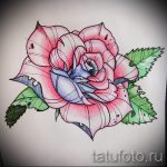 sketches tattoo colored roses - look cool wallpaper 1