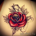 sketches tattoo colored roses - look cool wallpaper 2