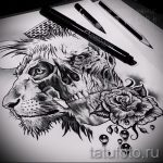 sketches tattoo lion with crown - images for tattoos from 29042916 1