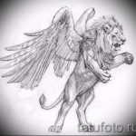 sketches tattoo lion with wings - tattoo pictures from 29042916 1