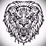 tattoo designs lion grin on his shoulder - images for tattoos from 29042916 1