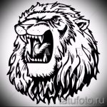 tattoo designs lion grin on his shoulder - images for tattoos from 29042916 2