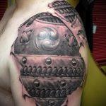 доспехи самурая тату - пример готовой татуировки от 16052016 1