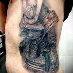 доспехи самурая тату - пример готовой татуировки от 16052016 2