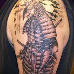 доспехи самурая тату - пример готовой татуировки от 16052016 3