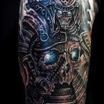 доспехи самурая тату - пример готовой татуировки от 16052016 4
