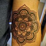 знак мандалы тату - фото пример готовой татуировки от 01052016 1