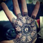 знак мандалы тату - фото пример готовой татуировки от 01052016 4