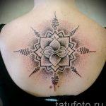 знак мандалы тату - фото пример готовой татуировки от 01052016 5
