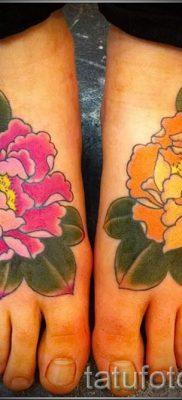 значение татуировки пион для девушек – фото пример татуировки от 15052016 3