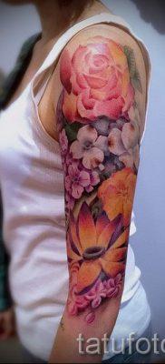 значение татуировки пион для девушек – фото пример татуировки от 15052016 4