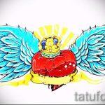 корона тату эскиз - рисунок для татуировки от 15052016 -1- 10
