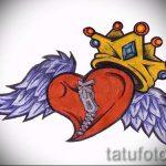 корона тату эскиз - рисунок для татуировки от 15052016 -1- 13