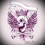 корона тату эскиз - рисунок для татуировки от 15052016 -1- 6