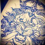корона тату эскиз - рисунок для татуировки от 15052016 -1- 7