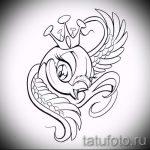 корона тату эскиз - рисунок для татуировки от 15052016 10