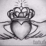 корона тату эскиз - рисунок для татуировки от 15052016 14