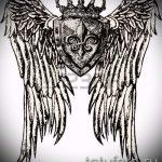 корона тату эскиз - рисунок для татуировки от 15052016 2