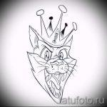 корона тату эскиз - рисунок для татуировки от 15052016 22