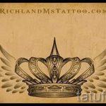 корона тату эскиз - рисунок для татуировки от 15052016 25