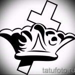 корона тату эскиз - рисунок для татуировки от 15052016 44